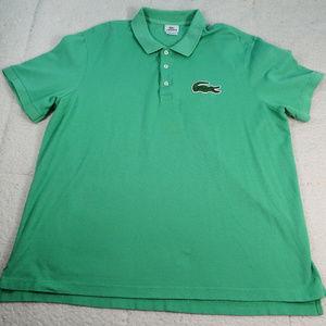 Lacoste Devanlay Lg Croc Polo Shirt Sz 8 or 3XL